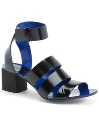 Proenza Schouler Women'S Leather Ankle Strap Sandal - Lyst