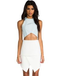 Cameo Word Tank in Baby Blue - Lyst