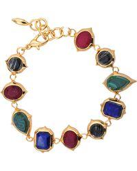 Isharya - Rani Rocks Multi Bracelet - Lyst