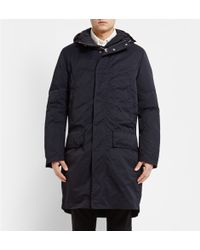 Acne Studios Montreal Double-layered Quilted Hooded Parka - Lyst