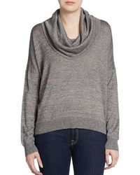 Joie Mildred Cowl Neck Sweater - Lyst
