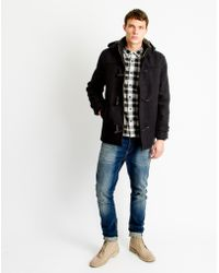 Only & Sons - Mens Duffle Coat Black - Lyst