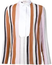Giambattista Valli Striped Shirt - Lyst