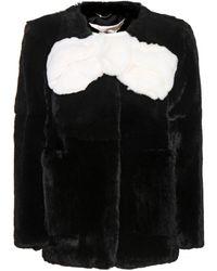 Marc Jacobs Fur Jacket - Lyst
