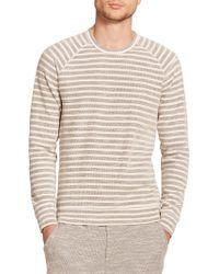 Splendid Mills Long-Sleeved Striped T-Shirt beige - Lyst