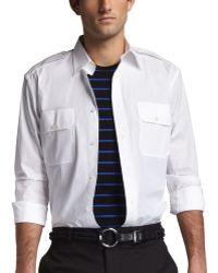 Ralph Lauren Black Label - Rover Military Shirt - Lyst