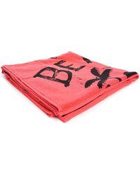 Diesel Pink Helleri Bath Towel pink - Lyst