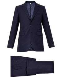 Burberry London Millbank Twobutton Wool Suit - Lyst