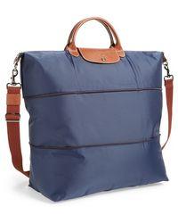 Longchamp 'Le Pliage' Expandable Travel Bag - Lyst