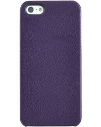 Graphic Image Leather Iphone 5 Case - Lyst