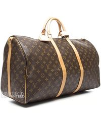 Louis Vuitton Preowned Keepall Bandouliere 55 Bag - Lyst