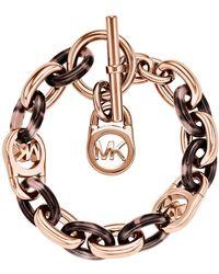Michael Kors Fulton Toggle Bracelet - Lyst