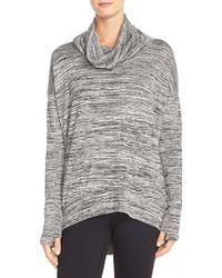 Bench - 'addition' Space Dye Cowl Neck Top - Lyst