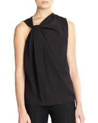 Helmut Lang Render Twisted-neck Top - Lyst