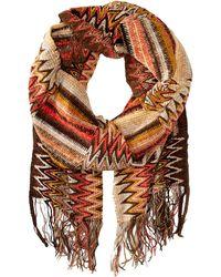 Missoni Orange scarves - Lyst