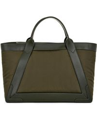 Balenciaga Cabas Nylon and Leather Tote - Lyst