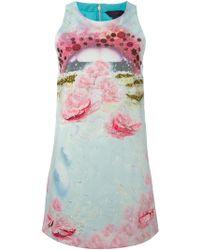 Manish Arora Sequin Embellished Dress - Lyst