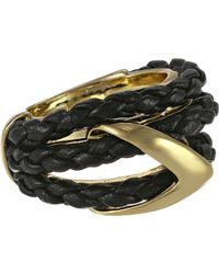 Alexis Bittar Orbiting Leather Ring - Lyst
