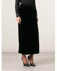 Emporio Armani High-waist Wide Leg Trousers - Lyst