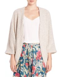 Haute Hippie | Chunky-knit Cocoon Cardigan | Lyst