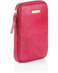 BOSS Orange - Mini Tablet Case Renya in Leather - Lyst