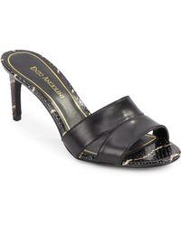Enzo Angiolini Alisity Slide Sandals - Lyst