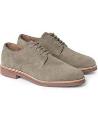 J.Crew Kenton Suede Derby Shoes - Lyst