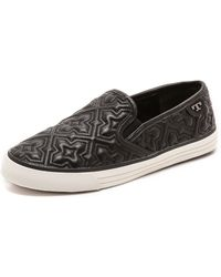 Tory Burch Jesse 2 Quilted Sneakers  Blackblack - Lyst