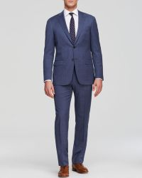 Hart Schaffner Marx - Platinum Label Windowpane Check Suit - Classic Fit - Bloomingdale's Exclusive - Lyst