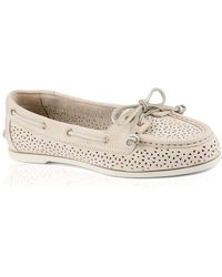 Sperry Top-Sider Boat Shoes - Audrey Perforated - Lyst