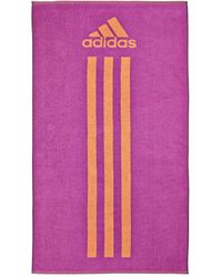 Adidas Purple Large Towel - Lyst