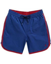 Brooks Brothers Red Fleece - Contrast Swim Trunks - Lyst