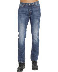 Paolo Pecora - Jeans Denim Used Slim - Lyst
