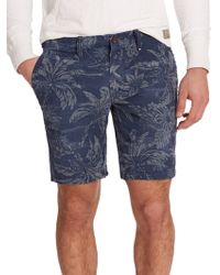 Polo Ralph Lauren Straight-Fit Floral Studio Shorts blue - Lyst