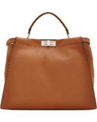 Fendi Medium Peekaboo Bag - Lyst