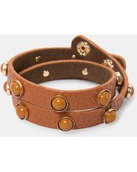 Violeta by Mango - Rounded Stud Bracelet - Lyst