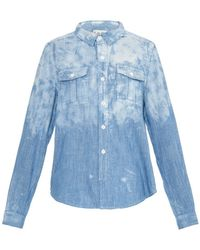 Sea Japanese Railroad Denim Shirt - Lyst