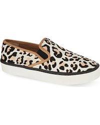 Carvela Kurt Geiger Lux Slip-On Trainers - For Women - Lyst