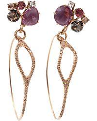 Federica Rettore - Multi-color Sapphire Mobile Earrings - Lyst