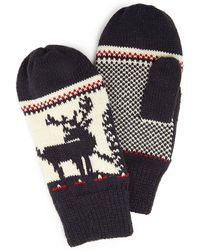 Forever 21 - Patterned Knit Mittens - Lyst
