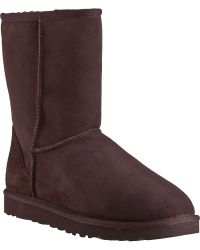 Ugg | Classic Short Boot Chocolate Brown | Lyst