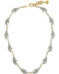 J.Crew Lulu Frost Winged Collar Necklace - Lyst