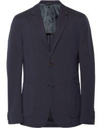 CALVIN KLEIN 205W39NYC - Thompson Slim-Fit Silk-Seersucker Blazer - Lyst