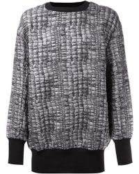 Vivienne Westwood Anglomania Printed Sweater - Lyst