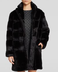 Marc By Marc Jacobs Coat - Airglow Faux Fur - Lyst