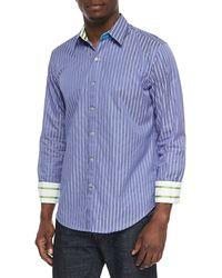 Robert Graham Ss Minnow Tailored Fit Sport Shirt - Lyst