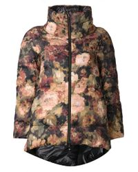 Herno Multicolor Padded Jacket - Lyst