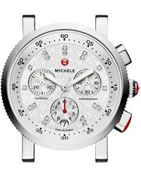 Michele - 'sport Sail' Chronograph Watch Case - Lyst