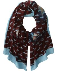 Marc By Marc Jacobs Intergalactic Logo Scarf - Lyst
