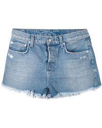 Ksubi Distressed Jeans Shorts - Lyst